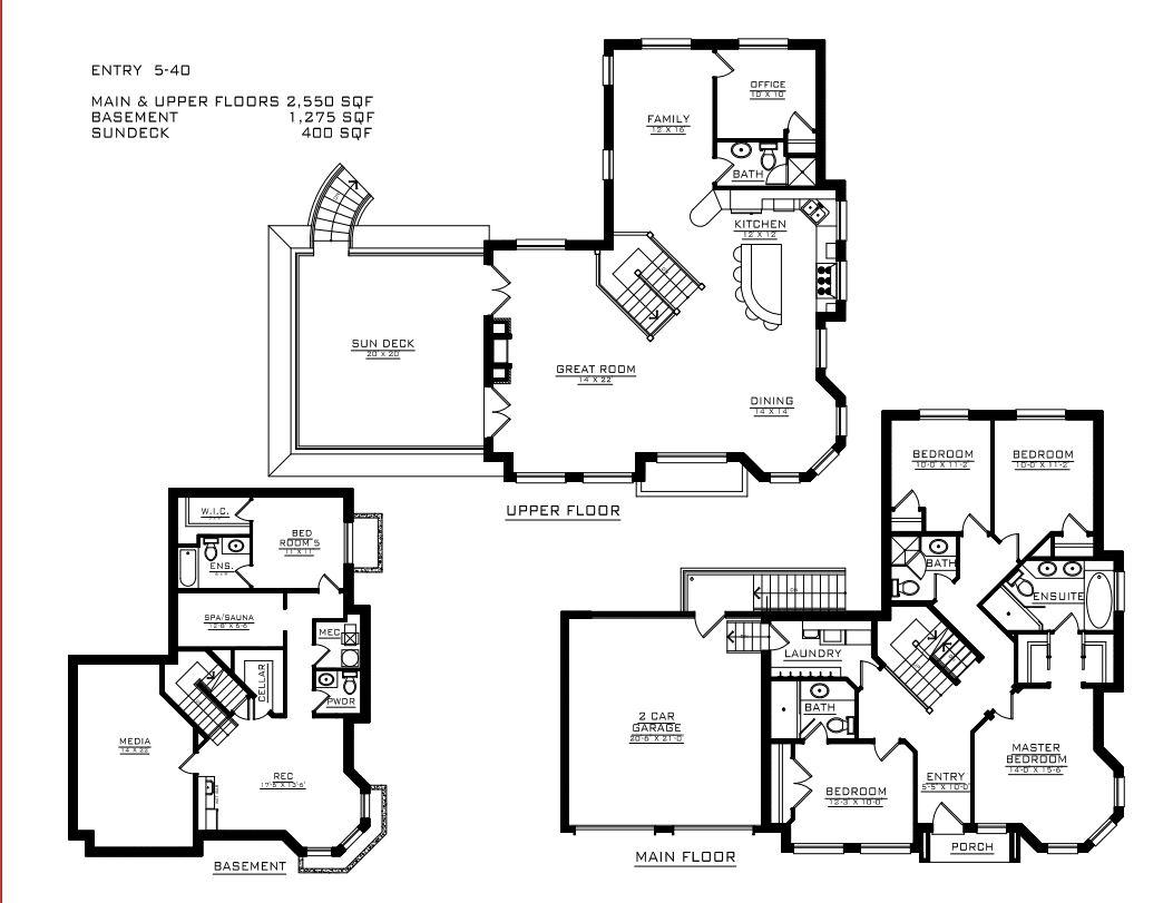 Esquimalt Floorplan Vancouver Building Design